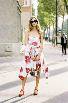 Paris Fashion Week SS 2015....Chiara
