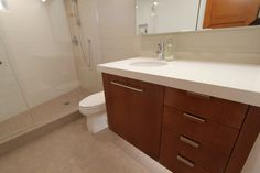 bathroom vanity from mid century modern crdenza - Google Search