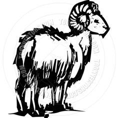 Bighorn Sheep Clip Art | Bighorn Sheep by xochicalco | Toon Vectors EPS #27971