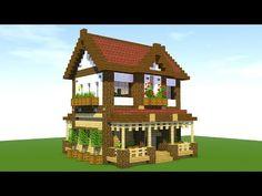 Minecraft: How To Build A Suburban House Tutorial ( - Minecraft Servers Web -. - Minecraft: How To Build A Suburban House Tutorial ( – Minecraft Servers Web – MSW – Channel Minecraft World, Minecraft Server, Minecraft House Plans, Minecraft House Tutorials, Minecraft Houses Survival, Easy Minecraft Houses, Minecraft Houses Blueprints, Minecraft House Designs, Minecraft Tutorial