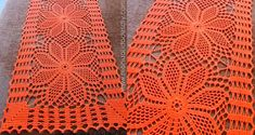 ergahandmade: Crochet Doily + Diagram Crochet Table Runner Pattern, Crochet Doily Diagram, Crochet Doily Patterns, Crochet Doilies, Knit Crochet, Shabby Chic Flowers, Table Runners, Diy And Crafts, Lily
