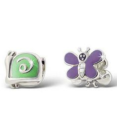 Look what I found on #zulily! Green Snail Sterling Silver Charm Set by Rhona Sutton #zulilyfinds