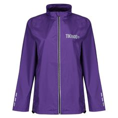 Achieve optimum warmth and style with one of our new unisex Reflective Windbreaker Running Jackets. Lightweight, showerproof and windproof, maintain your mileage when the weather and visibility compromise your run. Reflective print detail on the zip, cuffs, back of the neck and Tikiboo logos stand out from the gorgeous purple base for extra safety. Running Jacket, Neon Yellow, Workout Tops, Cuffs, Windbreaker, Safety, Weather, Base, Unisex
