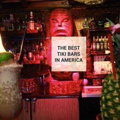 These are the 17 best Tiki bars in America!   I've been to five, on the list. plus, Harvey's Lake Tahoe and Al's in the Orleans (for the mugs), and for the true bars;  Don the Beachcomber's,  the Purple Orchid,  and Trader Vic's (before they moved it to the Grove.  oh and the Shag bar they built in the Venetian, Venus  and the Caliente Tropics for Tiki Oasis 5. I can't wait for Oregon!!!