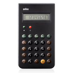 Braun: ET66 Calculator by Dieter Rams (BN-E001BK)