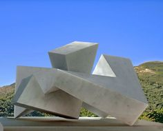 Marble Small /Little Abstract Contemporary /statues #sculpture by #sculptor Neil Ferber titled: 'ELUSIVE' #art