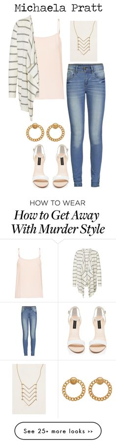 """How to get away with murder: Michaela Pratt"" by amelia-328 on Polyvore"