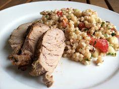 A Taste of Home Cooking: Greek Pork Tenderloin