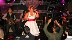 Pictured: La Santa Cecilia closes out the 2013 BMI Los Producers Charity Show with an 80s medley.