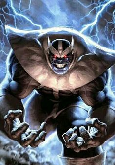 Thanos is a fictional character, a supervillan in the Marvel Comic universe. Created by Jim Starlin,Thanos was ranked number in IGN's top 100 comic book villains of all time. Marvel Dc Comics, Marvel Villains, Marvel Vs, Marvel Heroes, Marvel Comic Character, Comic Book Characters, Marvel Characters, Comic Books Art, Comic Art