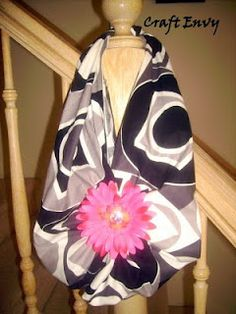 Furoshiki- Isn't that cute?  No sewing required, either, all we're going to do is fold and tie knots.