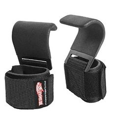 BS WRIST STRAPS WRAPS HOOKS WEIGHT LIFTING TRAINING GYM BAR LIFT SUPPORT GLOVES: Amazon.co.uk: Sports & Outdoors