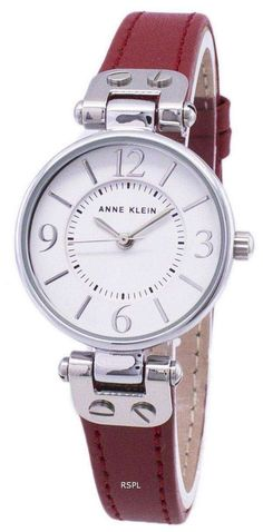 Features:  Stainless Steel Case Leather Strap Quartz Movement Mineral Crystal White Dial Analog Display Pull/Push Crown Solid Case Back Buckle Clasp 30M Water Resistance  Approximate Case Diameter: 26mm Approximate Case Thickness: 9mm