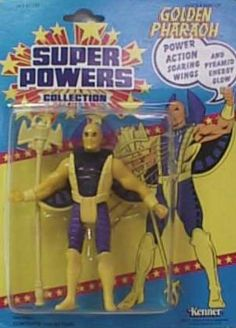 Super Powers - Golden Pharaoh Retro Toys, Vintage Toys, Dc Comics Action Figures, Kenner Toys, Modern Toys, Dc Comics Superheroes, Dc Characters, Star Wars Toys, Marvel Legends