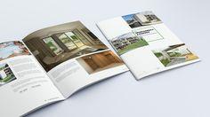 Folder for property developer- Apartamenty z ogrodu