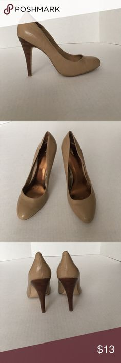 Mossimo nude heels Preowned Mossimo Supply Co Shoes Heels