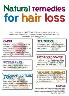 Remedios para el cabello