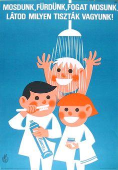 We Clean, We Bathe, We Brush our Teeth / Mosdunk, fürdünk, fogat mosunk 1977