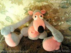 Project by fedora.Teddy Bear Potapchik with pyjamas.crochet pattern by Astashova for LittleOwlsHut #LittleOwlsHut, #Bear, #Astashova, #Amigurumi, #CrochetPattern, #DIY, #BearPotapchik