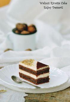 Romanian Desserts, Romanian Food, Homemade Chocolate, Chocolate Cake, Cake Recipes, Dessert Recipes, Ricotta Cake, Layered Desserts, Food Cakes