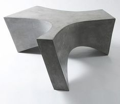 Concrete Furniture by Daniel Miese which we can never have because Europe is so much more advanced than N. America in the world of design! Concrete Cement, Concrete Furniture, Concrete Projects, Concrete Design, Urban Furniture, Design Furniture, Luxury Furniture, Home Furniture, Concrete Coffee Table