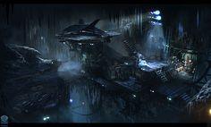 Batcave from Batman: Arkham Origins