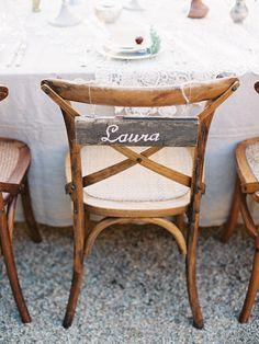 simple beautiful chair decor