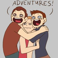 The drake brothers always love adventure