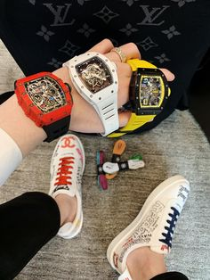 One, two or three Lux Watches, Luxury Watches For Men, Cool Watches, Award Display, Tourbillon Watch, Cool Electronics, Richard Mille, Leather Mask, Expensive Watches