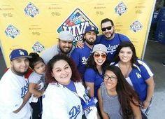 THINK BLUE: Dodgers Fan Fest last year! Hopefully we can go Saturday again! by thekidd_yadigg