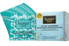 Les lingettes dissolvantes spécial paillettes glitter de Butter London vernis
