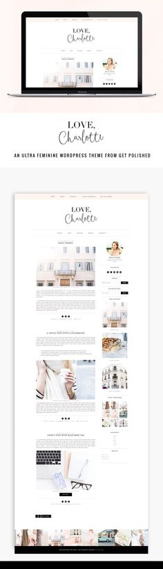 LC Responsive WordPress Theme by Get Polished on @creativemarket