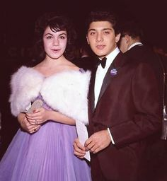 Annette Funicello and Paul Anka, and they called it Puppy Love, apparentely he wrote that song after they briefly dated.