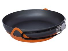 Expand your backcountry cooking capabilities with the Jetboil FluxRing Fry Pan. Partnered with the Jetboil Personal Cooking System, it creates a convenient setup for a campsite stir-fry or saute. Camping Stove, Tent Camping, Camping Gear, Making Grilled Cheese, Types Of Meat, Hiking Gear, Wok, Fries, Jet Boil