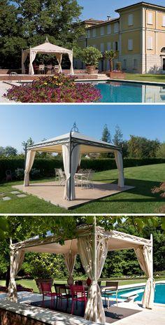 Gazebos, Outdoor Spaces, Outdoor Structures, Decoration, Design, Sage Green House, Houses, Garden Decorations, Creativity