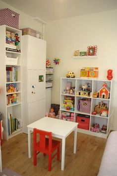 """Organization for the kids room or craft room."" #furniture #painting #craftroom #inspiration"