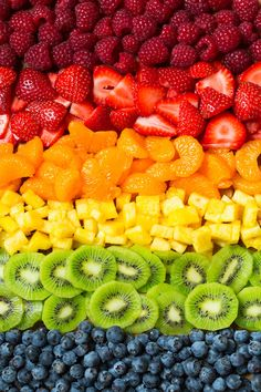 Fruit Pizza (Easy Recipe with Cream Cheese Frosting!) Cooking Classy is part of Fruit wallpaper - Fruit Pizza is so easy to make and everyone both young and old alike will absolutely love it! You get a chewy sugar cookie base that's covered with a Fruit And Veg, Fruits And Vegetables, Fresh Fruit, Colorful Fruit, Fun Fruit, Fruit Food, Mixed Fruit, Tropical Fruits, Veggie Food