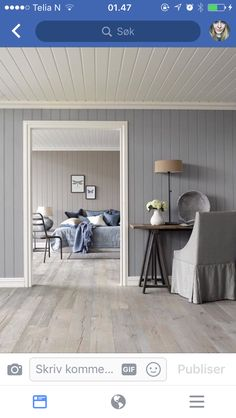 Wooden Panelling, Home Panel, Living Area, Living Room, Cottage Interiors, Bedroom Colors, Home Renovation, Sweet Home, New Homes