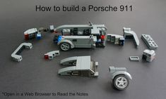 How to build a Porsche 911 | Click here to see the finished … | Flickr