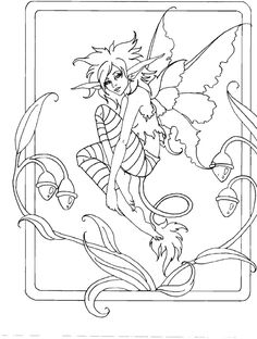 afbeeldingsresultaat voor coloring books amy brown fairy art the official gallery - Fantasy Coloring Pages Adults