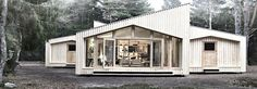 ""\""""Danish architecture firm Eentileen has built Villa Asserbo, the firm's first digitally fabricated, sustainable, inexpensive home."""" Read more: Eentileen's Villa Asserbo is Sustainable 'Printed' House in Denmark Villa, Eco Architecture, Floating House, Prefab Homes, Sustainable Design, House In The Woods, Building A House, Green Building, Tiny House""236|82|?|en|2|9edf920c8ab31a6ef322f28a529074a3|False|UNLIKELY|0.2855216860771179