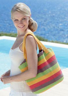 Crocheted Womens Bag
