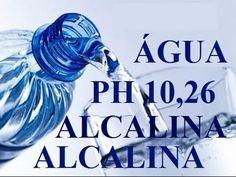 Benefícios da Água Alcalina – Quais as melhores águas para se beber.