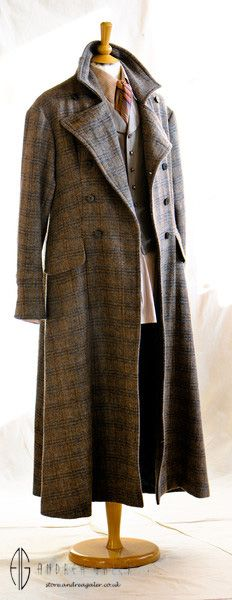 http://www.andrea-galer.co.uk/withnail-collection/ The iconic Withnail coat worn by #RichardEGrant in #BruceRobinson 's #Withnail&I designed by Andrea Galer in Original Harris Tweed.