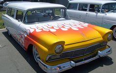 Ford Falcon Flames Custom Car