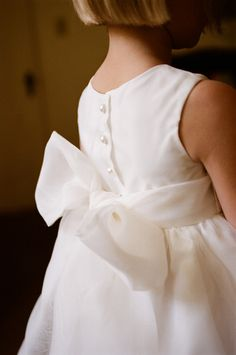 The flower girls dress. Perfectly simple.