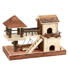 Buy Kerbl Hamster Nature Climbing House at Guaranteed Cheapest Prices with Express & Free Delivery available now at PetPlanet.co.uk, the UKs #1 Online Pet Shop.