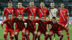 Russia World Cup 2014 Football Team