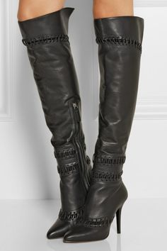 875ac34a5c5 Tabitha Simmons - Black Grayden Over-the-knee Boots - Lyst