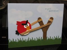 Angry Birds & Pigs Birthday by SewingStamper06 - Cards and Paper Crafts at Splitcoaststampers